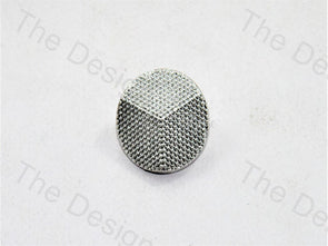 Mercedes Design Dotted Silver Suit Buttons