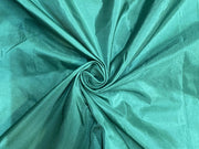 Dark Green Plain Mill Dyed Poly Silk Fabric
