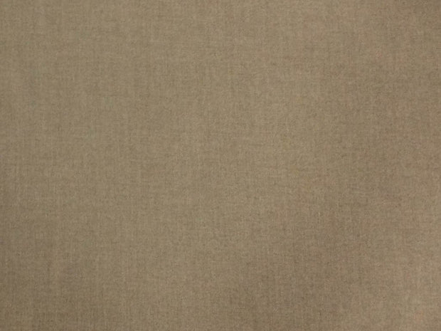 Dull Brown Plain Wool Fabric
