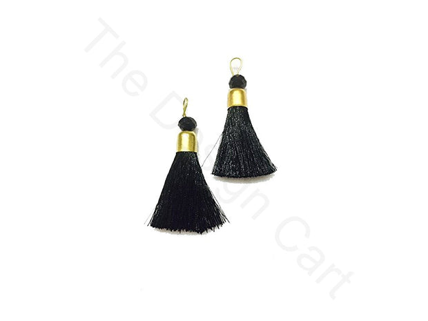 Black Zari Tassels | The Design Cart