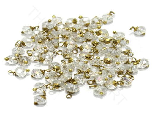 White Transparent Loreal Beads