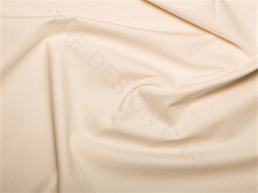 Beige Cotton Poplin Fabric