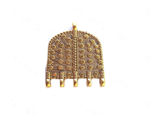 Golden Tribal Jewellery Pendant