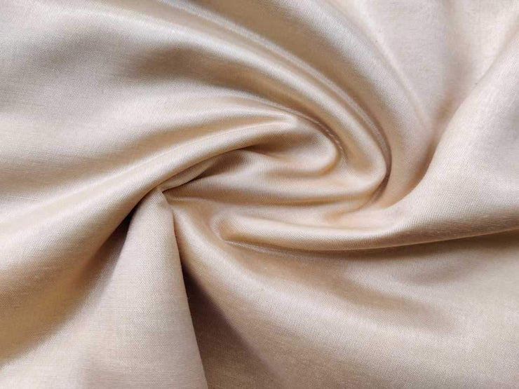 Rose Golden Plain Silk Fabric (4535328964677)