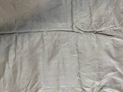Gray Silver Plain Mill Dyed Poly Silk Fabric