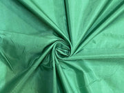 Green Plain Mill Dyed Poly Silk Fabric