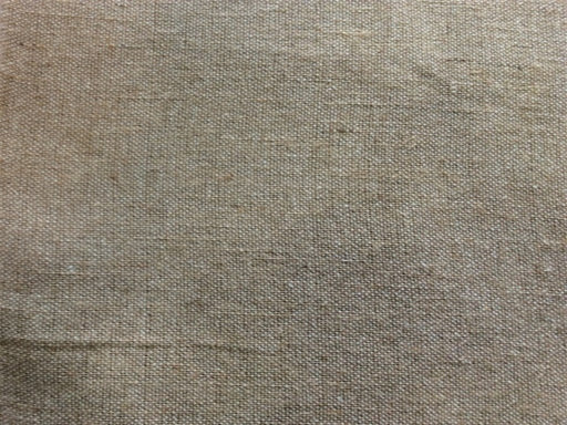 Pale Brown Cotton Jute Blend Fabric (Dyeable)