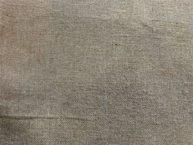 Pale Brown Cotton Jute Blend Fabric (Dyeable) | The Design Cart