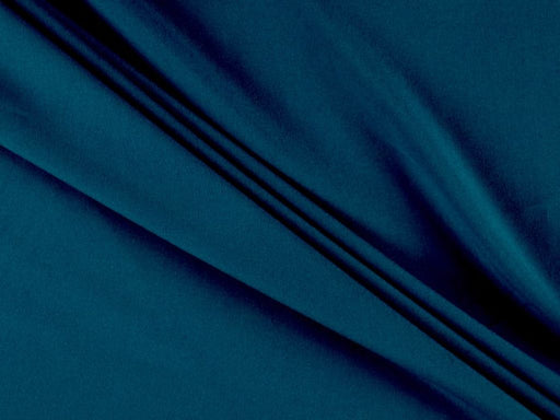 Teal Plain Crepe Fabric