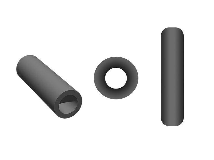 Opaque Black Pipe / Bugle Beads (10647064915)