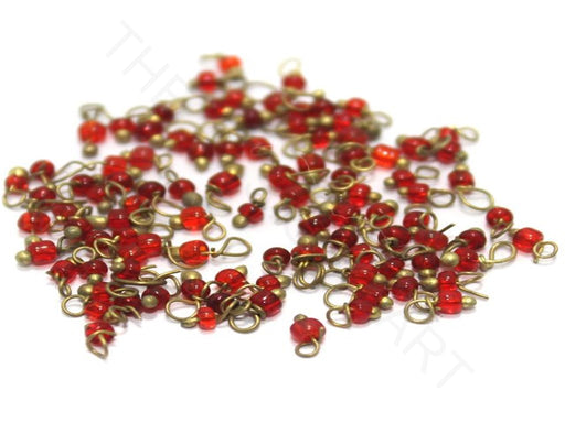 Red Loreal Beads (1 mm)