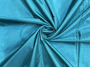 Light Blue Plain Mill Dyed Poly Silk Fabric