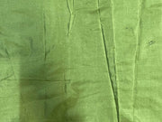 Light Green Plain Mill Dyed Poly Silk Fabric