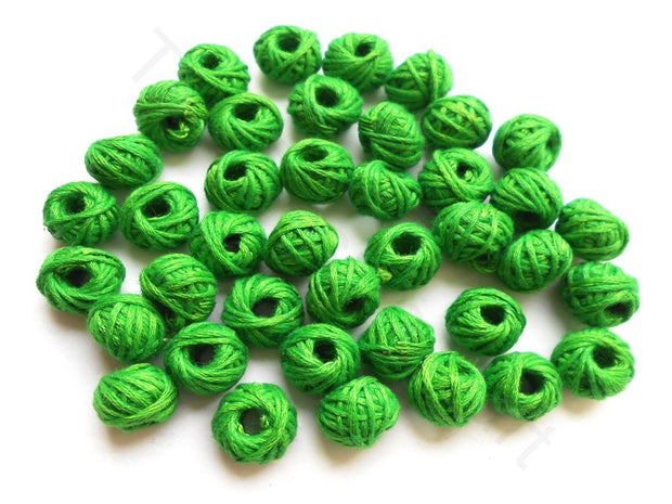 Green Thread Beads (1672819507234)