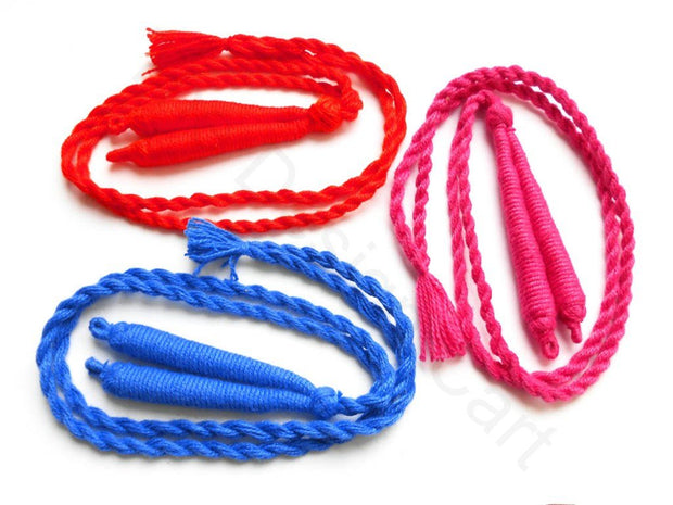 Red, Pink, Blue Dori / Thread Cords (1672819638306)