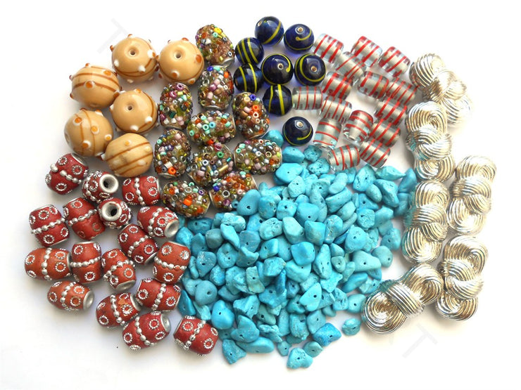 Assorted Beads Combo 5 | The Design Cart