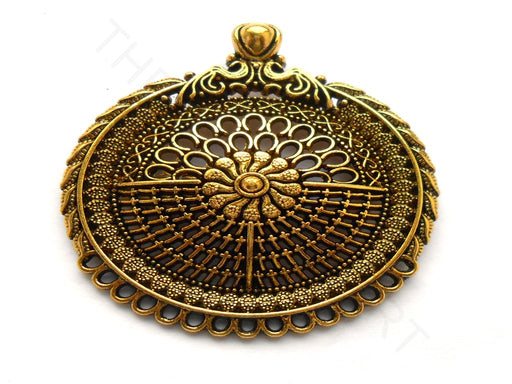 Antique Golden Designer Pendant