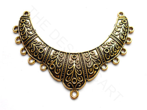 Oxidized Antique Golden Pendant