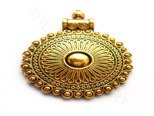 Antique Golden Design Pendant