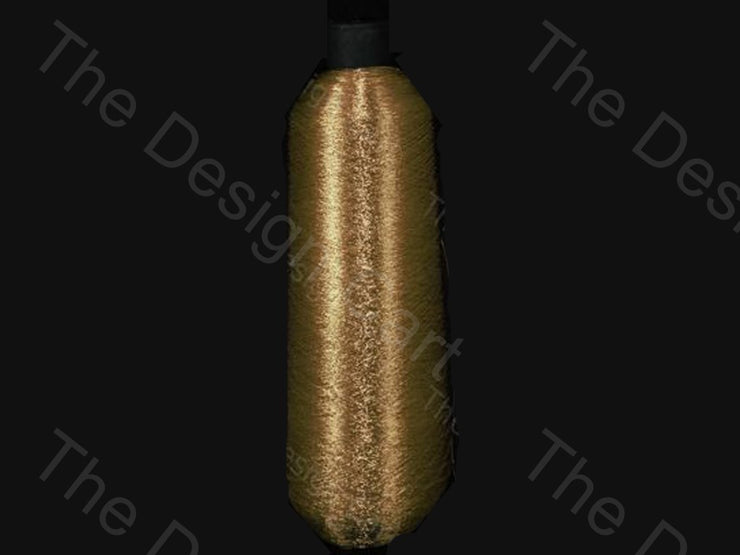 Copper Gold Cone (Metallic Yarn) (12576969555)