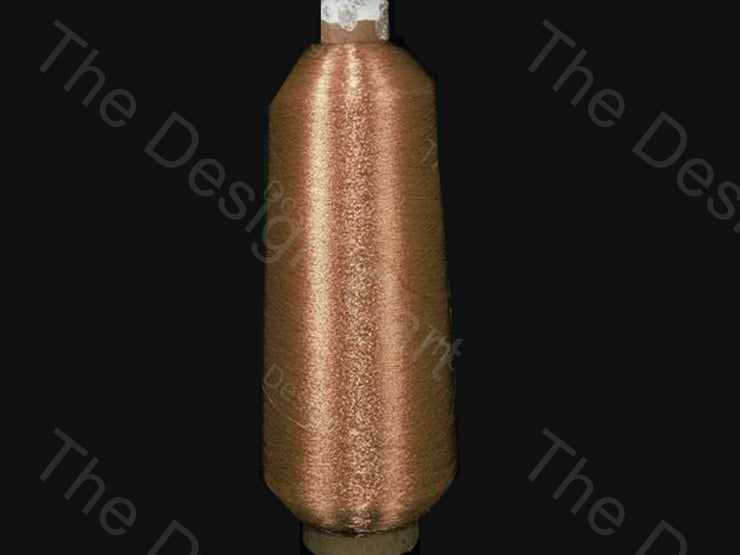 Copper Cone (Metallic Yarn) (12576969619)