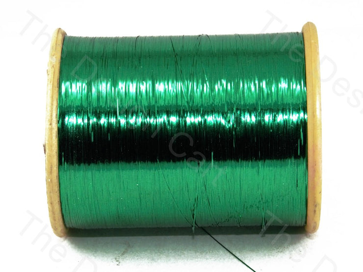Green Flat Badla (Metallic Yarn) (12577441363)