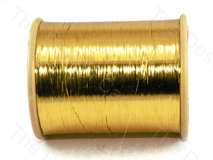 Yellow Flat Badla (Metallic Yarn) (12577441491)
