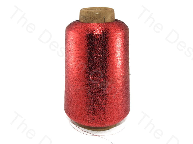 Red Twisted Yarn (Metallic Yarn) (12577630483)