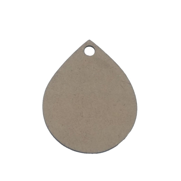 Brown Drop Wooden Pendant Base (41x33x2 mm) (4537996935237)
