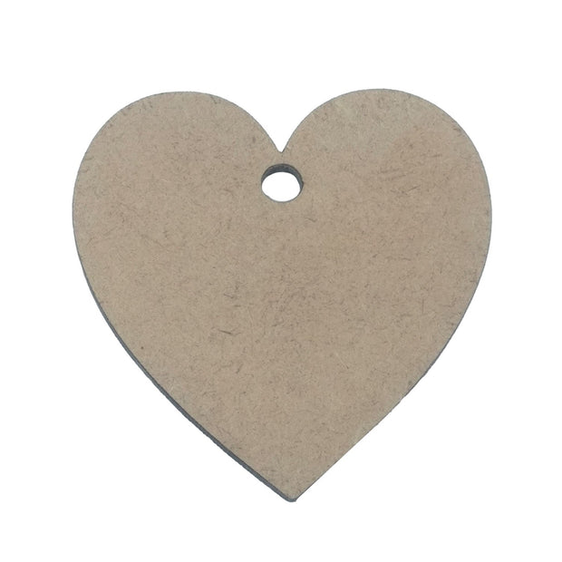 Brown Heart Wooden Pendant Base (43.5x42x2 mm) (4537995264069)