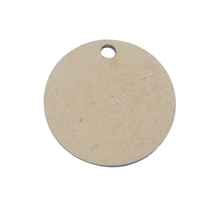 Brown Circular Wooden Pendant Base (34x2 mm) (4537993920581)