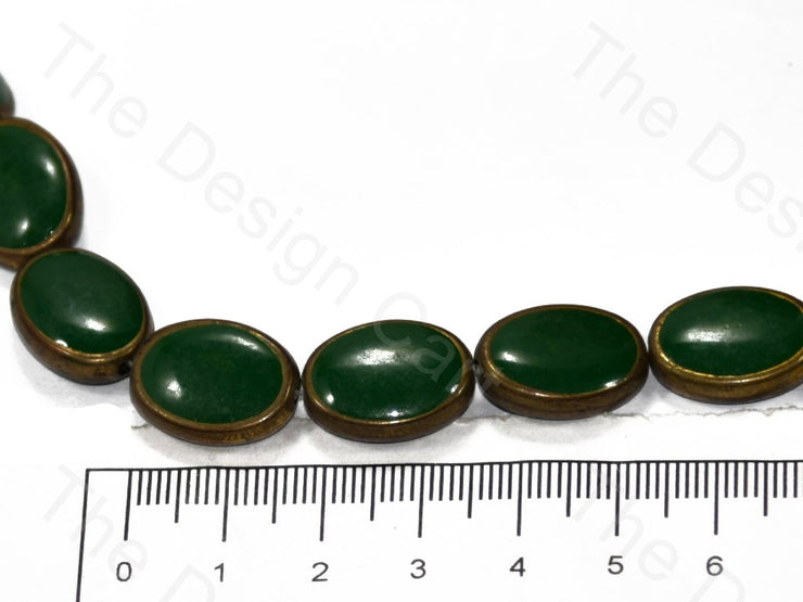 Oval Glossy Plastic Stones with enamel (398330101794)