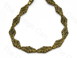 Golden Antique Pattern Plastic Stones