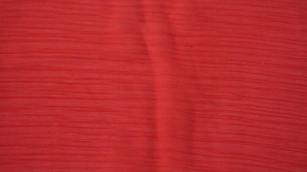 Maroon Textured Goergette Fabric | The Design Cart
