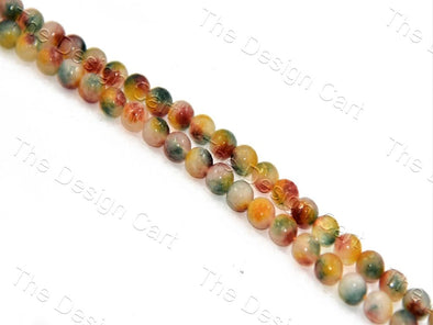 Multicolour mix Jade Rondelle Quartz Semi Precious Stone