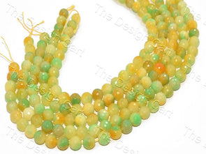 12 mm Multicolour Jade Quartz Semi Precious Stones