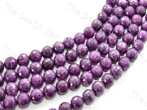 14 mm Purple Jade Quartz Semi Precious Stones