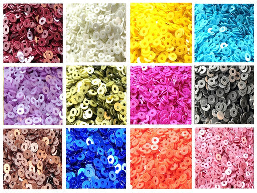 Assorted Pack Of 12 Sequins Combo 21