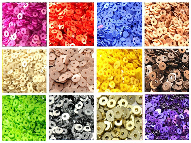 Assorted Pack Of 12 Sequins Combo 22