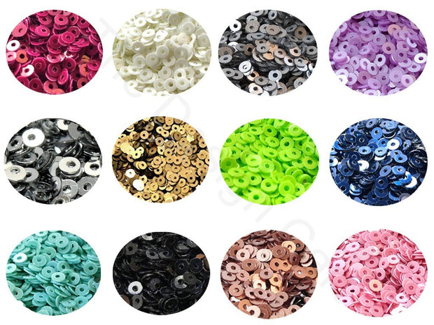Assorted Pack Of 12 Sequins Combo 12 (1812367638562)
