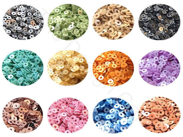 Assorted Pack Of 12 Sequins Combo 13