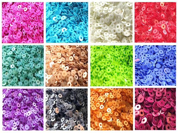 Assorted Pack Of 12 Sequins Combo 18