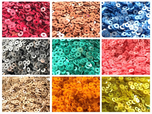 Assorted Pack Of 9 Sequins Combo 11