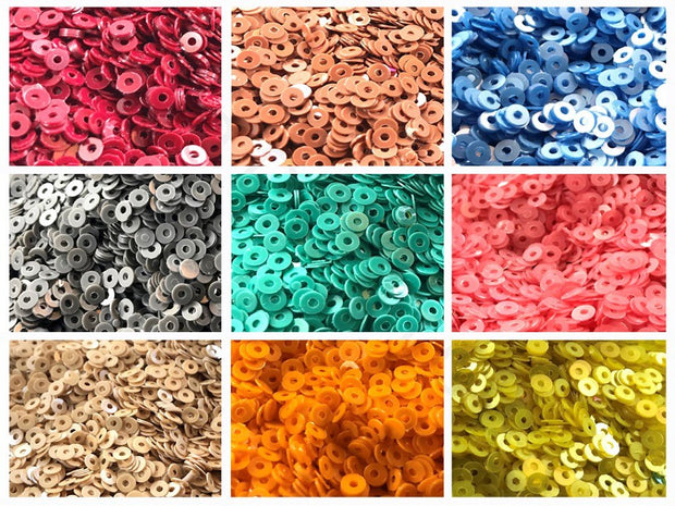 Assorted Pack Of 9 Sequins Combo 11 (1812367507490)