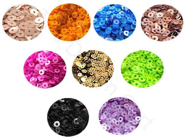 Assorted Pack Of 9 Sequins Combo 3