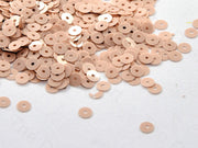 Peach Round Centre Hole Sequins | The Design Cart (448158335010)