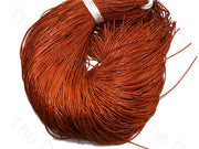 Dark Orange Dabka / French Wire - The Design Cart (432743219234)