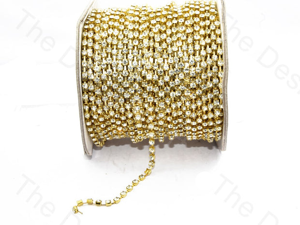 White / Crystal Golden Cup Chain (395089084450)