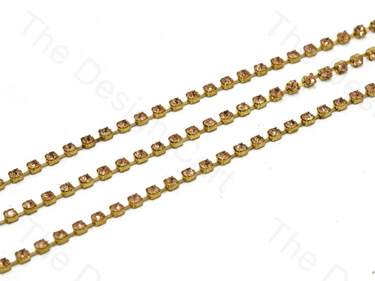Peach Golden Cup Chain (395090001954)