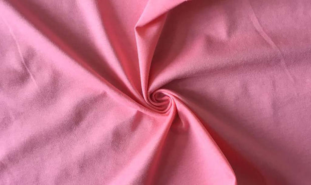 Light Pink Solid Sinker Cotton Fabric